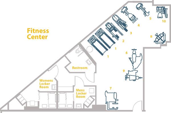 floor plan of the equipment